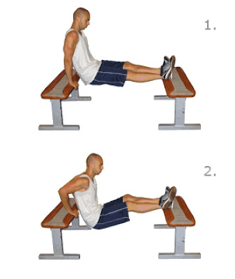Step Exercises And Fitness Arm Exercises Step 1 Bench