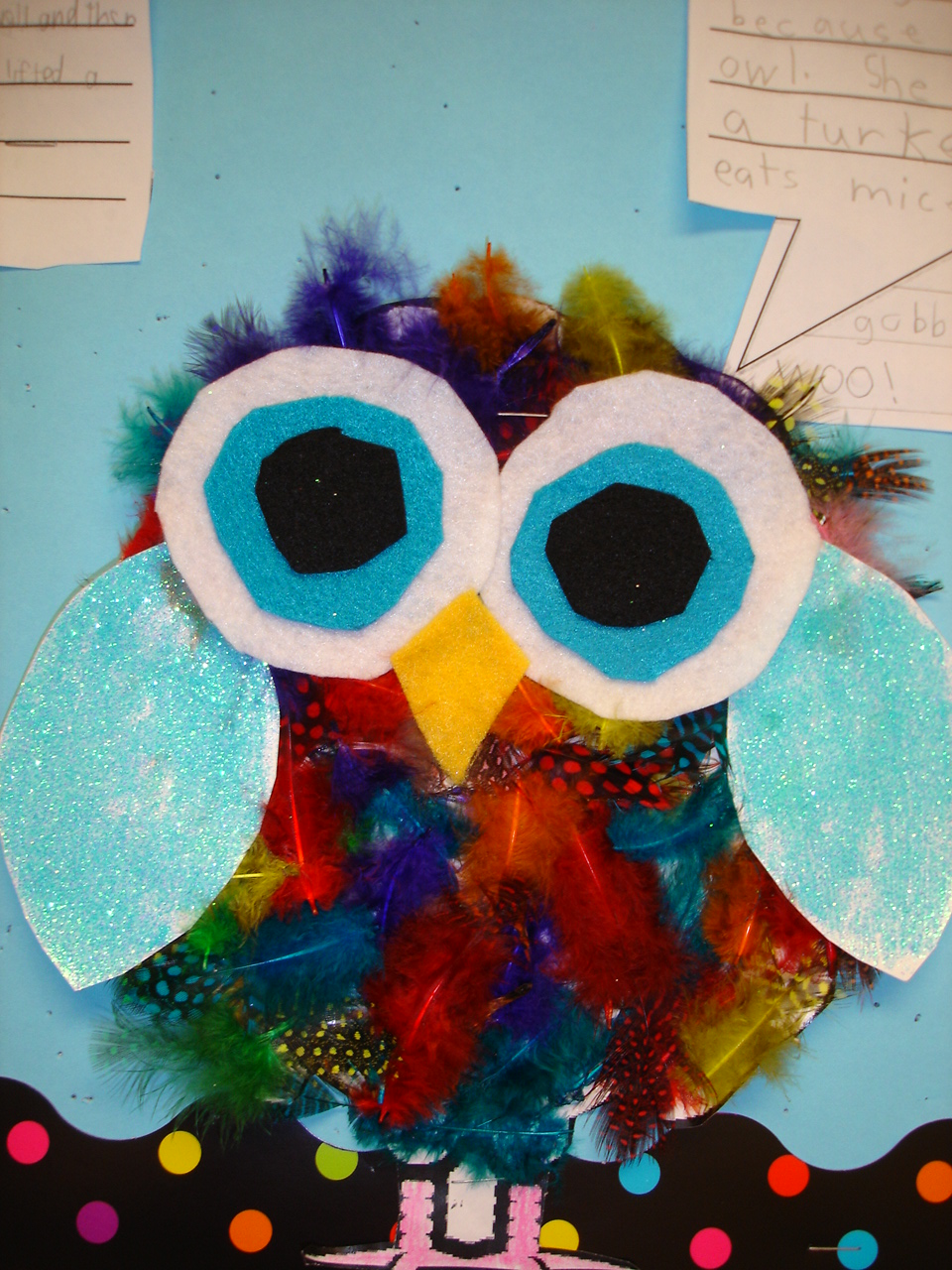 How to decorate and hide the turkey - Owl