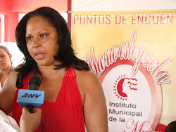 Presidenta del Instituto Municipal de la Mujer