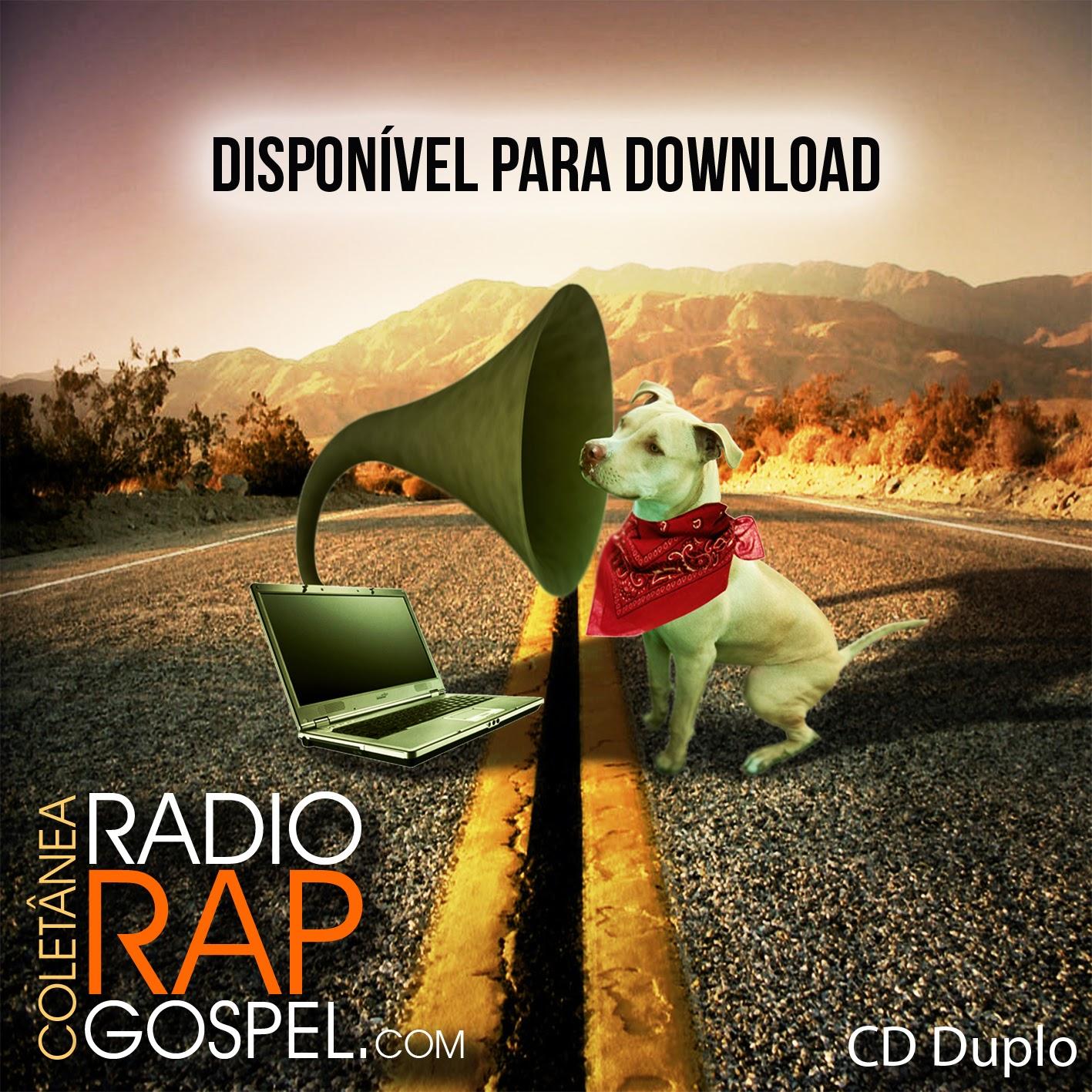 Baixa agora  CD da coletânea Radio Rap Gospel.com