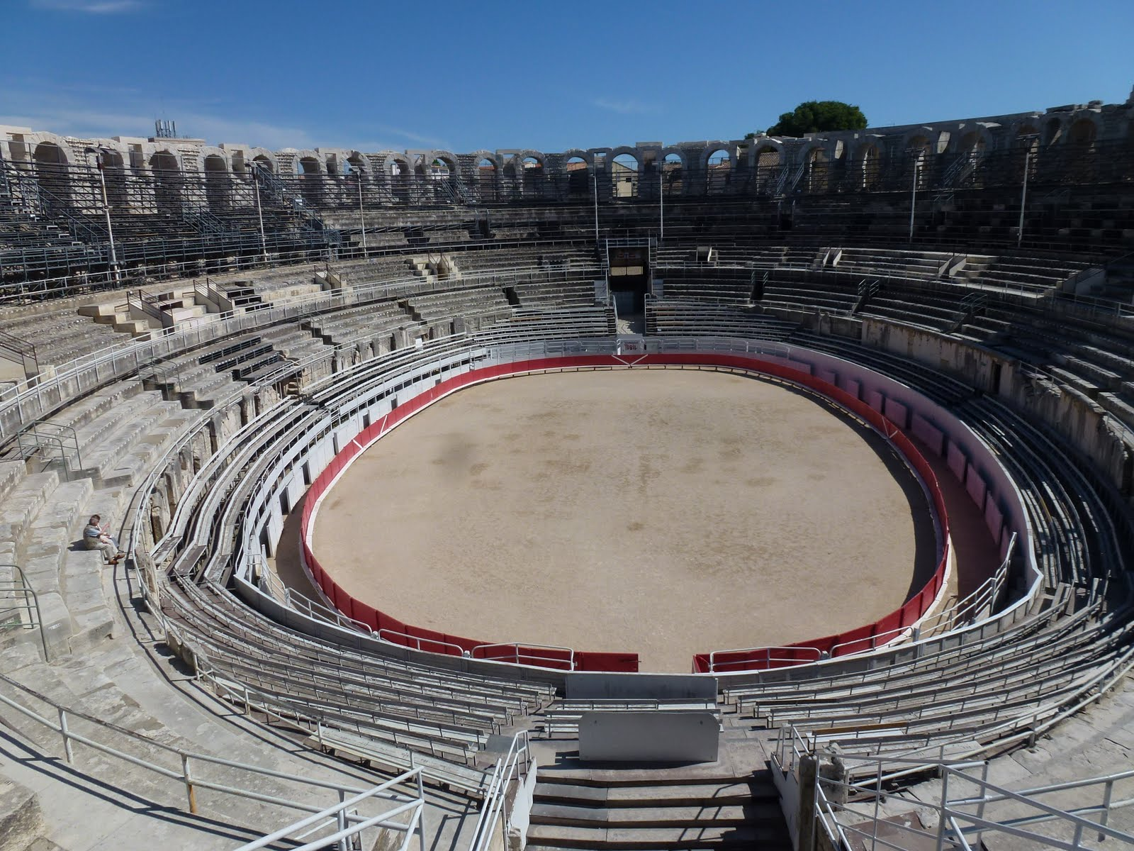 Armchair Travel With Martha: Roman Amphitheatre in Arles