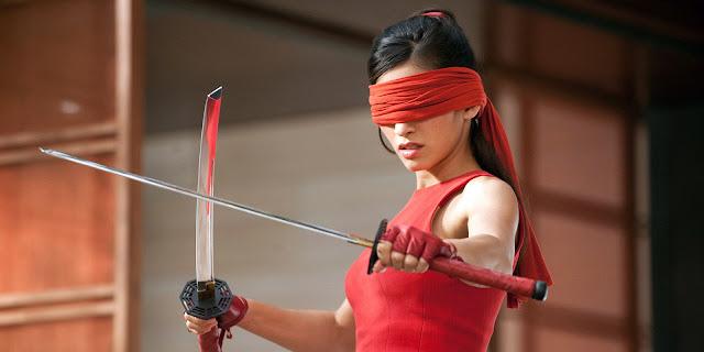 Elektra Daredevil serie