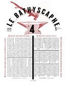 LE BATHYSCAPHE 4