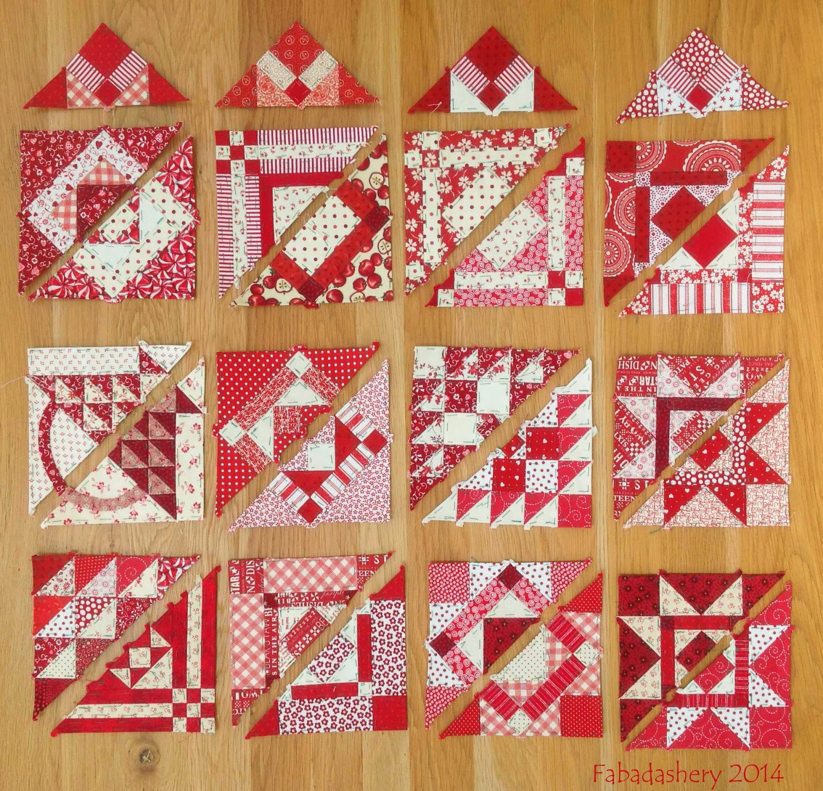 Nearly Insane Quilt - Edge Blocks