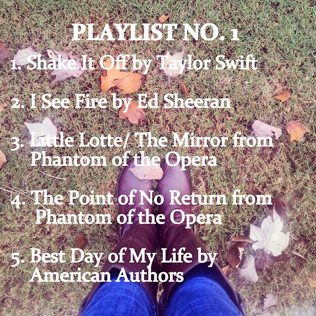 Playlist feat. Taylor Swift and show tunes -- Prep For A Day