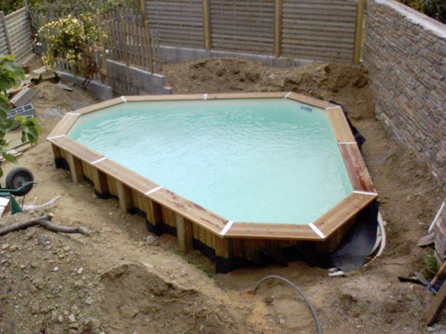 piscine d angle bois