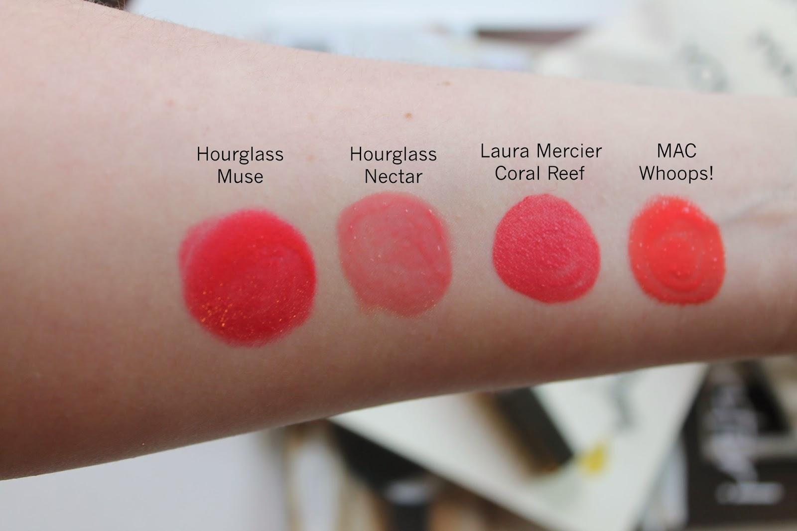 Coral Reef Paint Color City Styles Laura Mercier Paint Wash Liquid Lip Colour Coral Reef