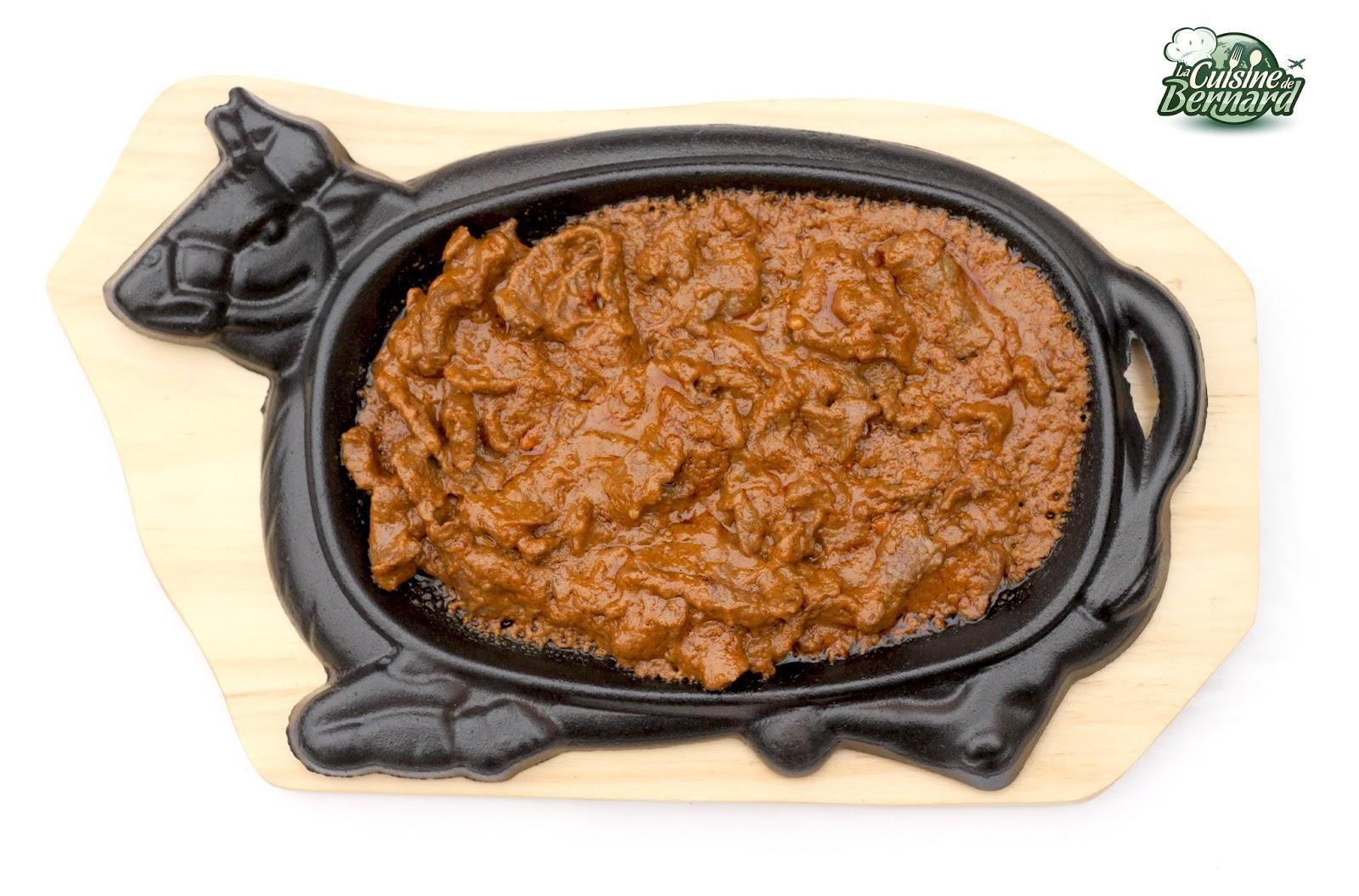 La cuisine de bernard b uf fr tillant la poudre de for Plaque cuisson restaurant
