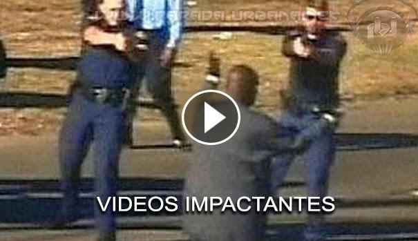 VIDEO IMPACTANTE: Recopilación de videos en donde policías y Delincuentes, terminan abatidos.