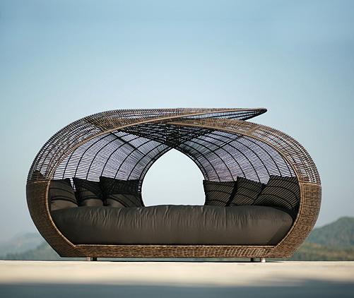 Spotlight On Award Winning Filipino Furniture Designer: The Pink Doormat: Furniture Made With Rattan