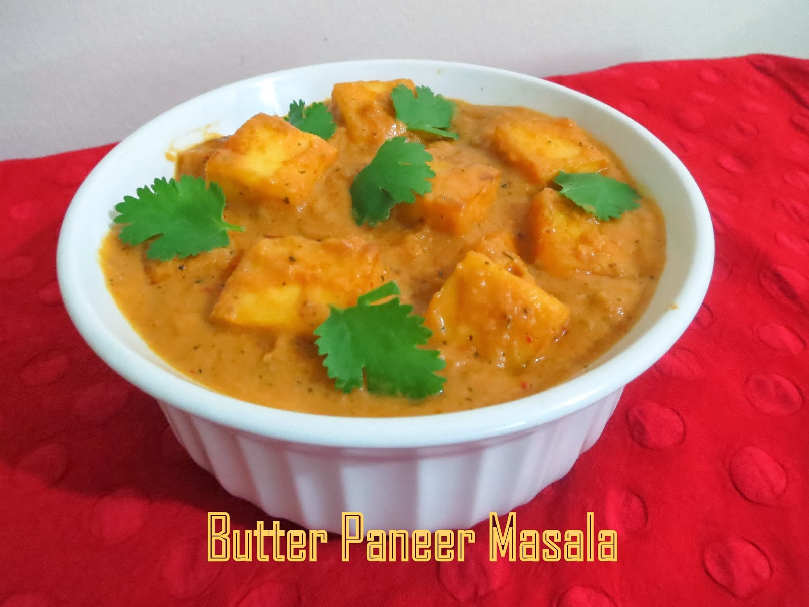 Simply Delicious: Butter Paneer Masala(Paneer Makhani)