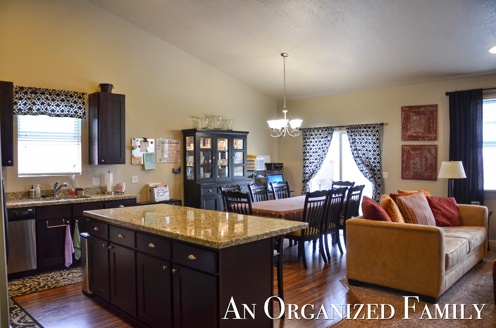 My Kitchen And Dining Area Along With The Living Room Was Another One Of Favorite Spaces In This House I Loved Vaulted Ceilings Openness