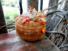 PRIMITIVE PLAID FABRIC PUMPKIN