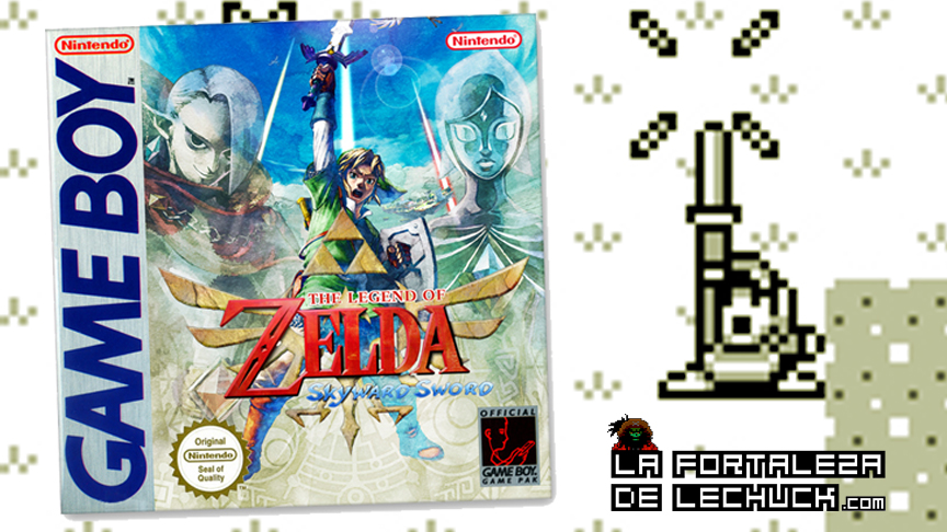 Skyward Sword ¡En una Gameboy!