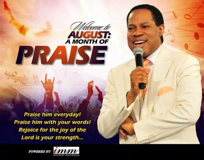 Welcome August a Month of Praise