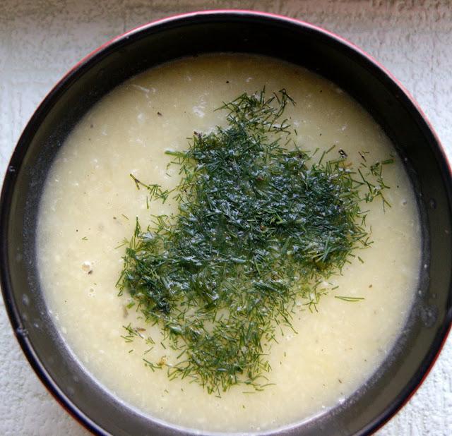 zupa z porow