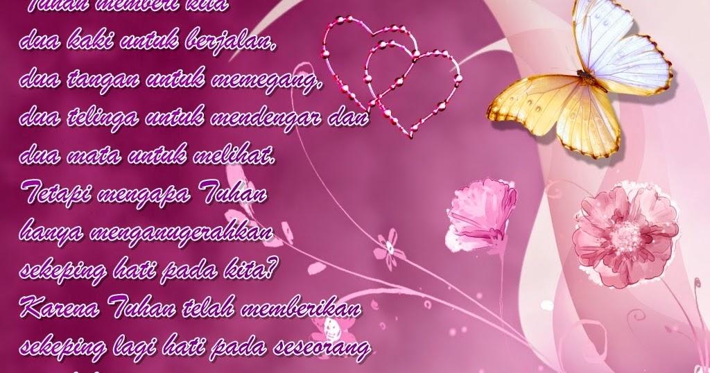 Gambar Tulisan Kata Bijak Cinta Yang Romantis | Kumpulan ...