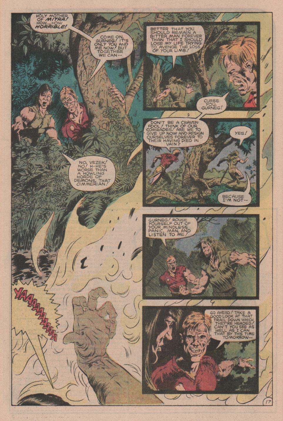 Conan the Barbarian (1970) Issue #160 #172 - English 18