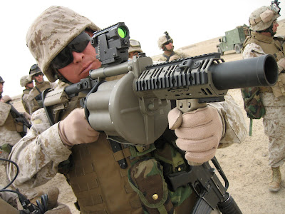 M32 Grenade Launcher 6 shot future weapons