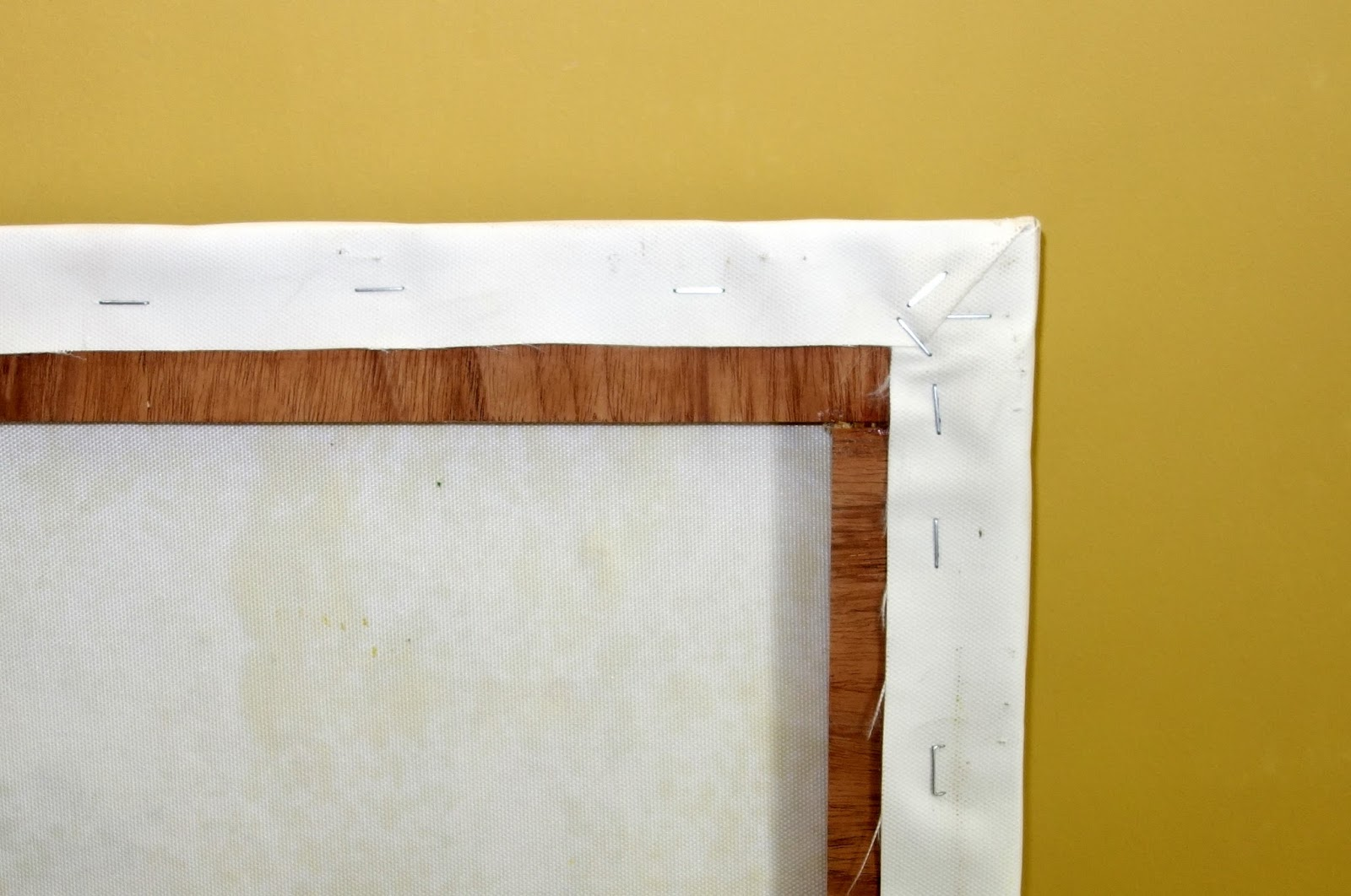 How to Stretch the Perfect Canvas | Do The DIY