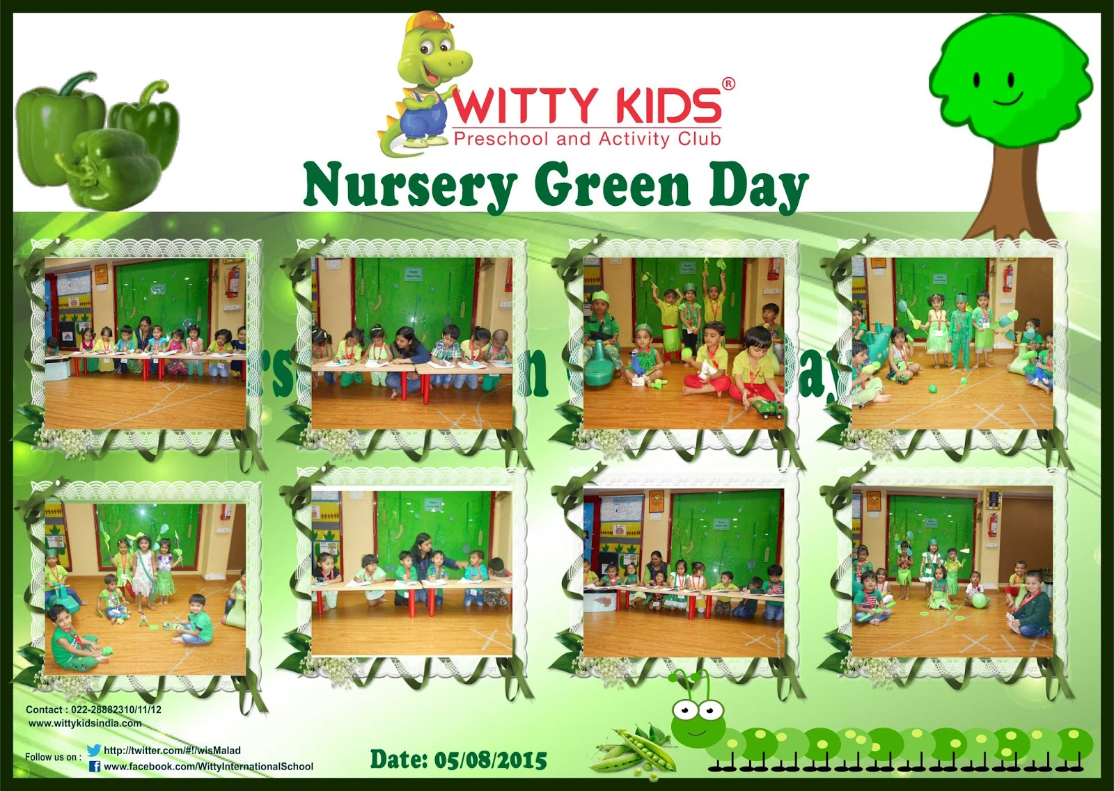 On the top of the World...: Green Day Celebration by Nursery WIS ...