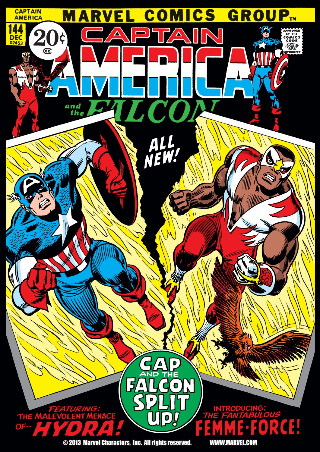 Captain America (1968) Issue #144 #58 - English 1
