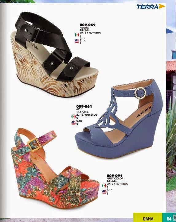 Zapatos con plataforma de Terra PV 2015