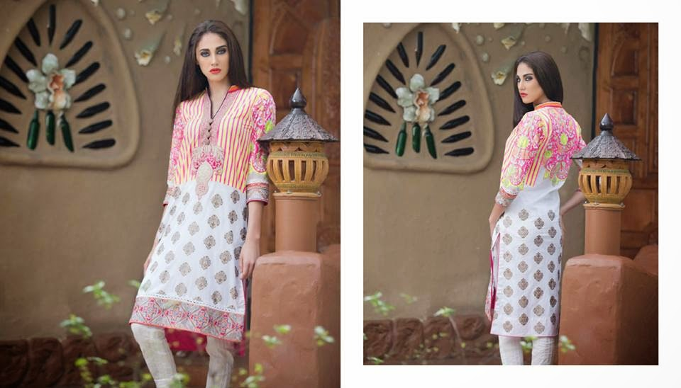 Firdous short kurtis collection