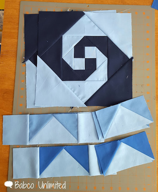 BabcoUnlimited.blogspot.com - Mystery Quilt Day 1