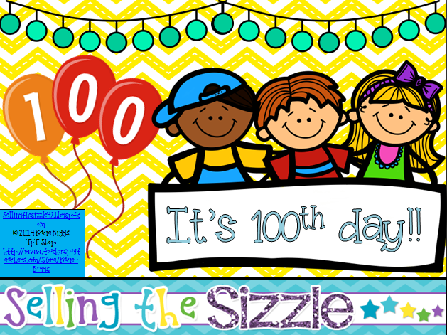 http://www.teacherspayteachers.com/Product/Its-100th-day-1130086