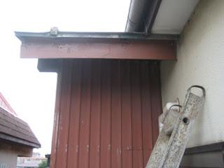 川崎市多摩区 雨樋 設置工事 破風板 鼻隠し