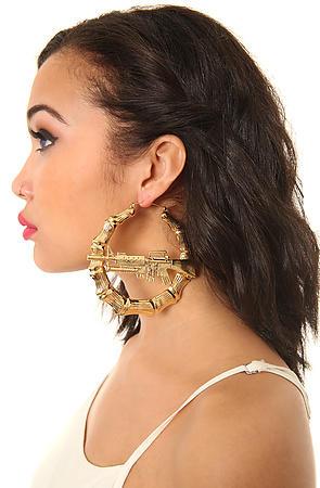 Bamboo Earring Large1