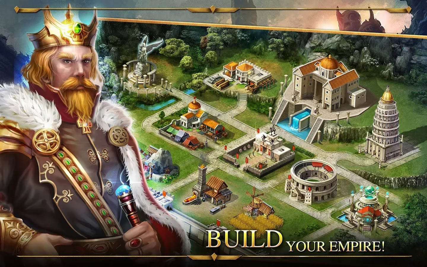 Android Age of Warring Empire Apk resimi