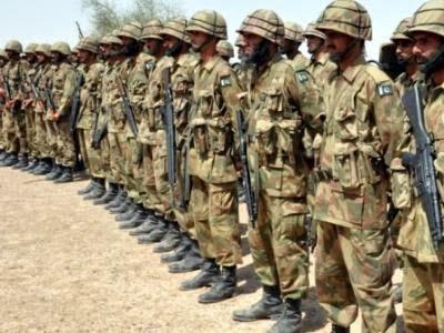 পাকিস্তানী সেনাবাহিনী