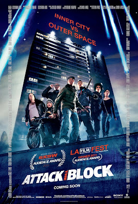 Watch Attack the Block 2011 BRRip Hollywood Movie Online | Attack the Block 2011 Hollywood Movie Poster