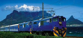 Blue train journey