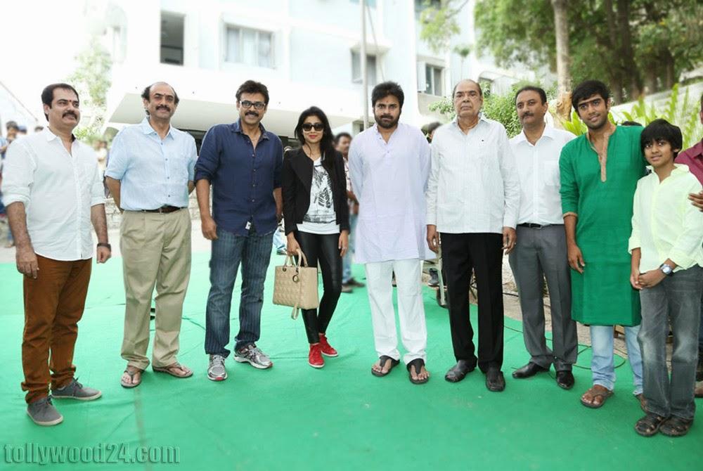 Gopal Gopala Movie Opening event Photos-HQ-Photo-5