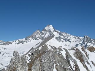 Ein letztes Mal der Glockner - dieses Mal vom Gipfel des Weißen Knotens aus.