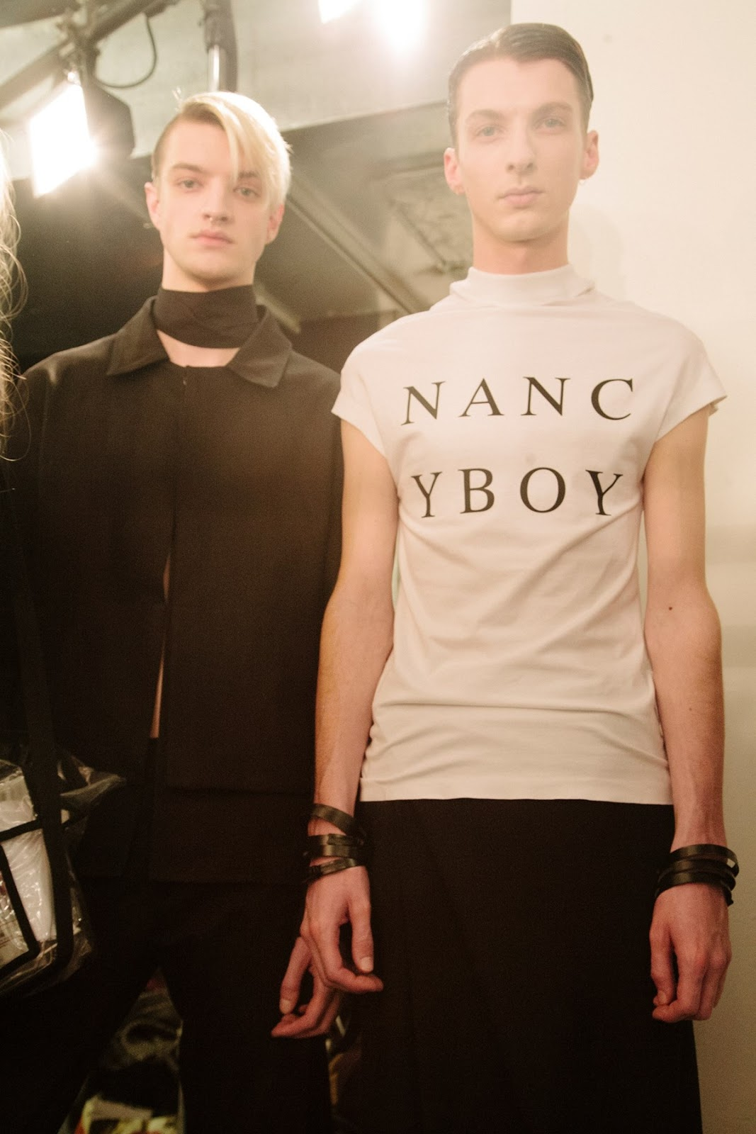 Nancy Boy by Rory Parnell Mooney Man AW16