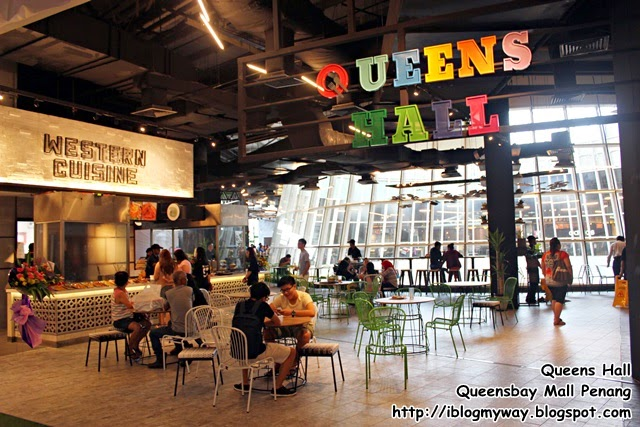 Queens Hall @ Queensbay Mall Penang Food Court