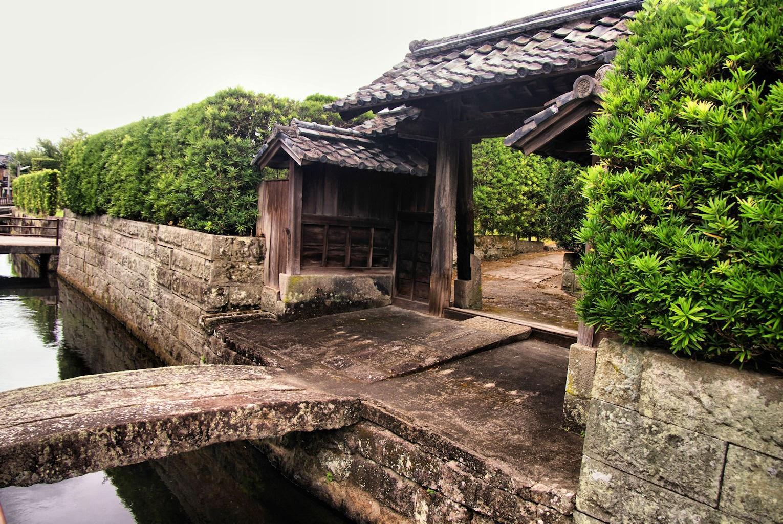 Samurai district in Kaseda
