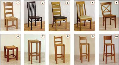 sillas de madera para cafetería