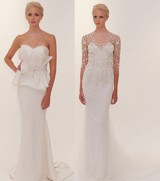 The Dream Wedding Inspirations: Marchesa New York Bridal Week Spring ...