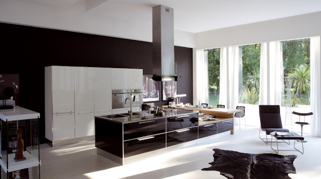 Home Interior Design & Decor: More Modern Italian Kitchens