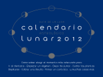 Calendario Lunar 2012