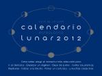 Calendario Lunar 2012