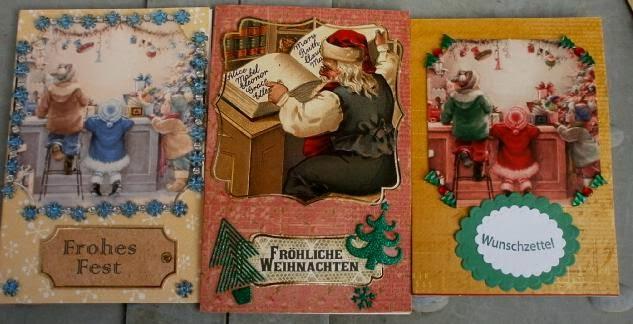 katrinland weihnachtskarten 2014 die zweite. Black Bedroom Furniture Sets. Home Design Ideas