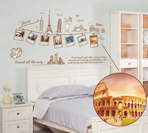 Adesivi murali idea economica per decorare le pareti con - Decorazioni tumblr ...