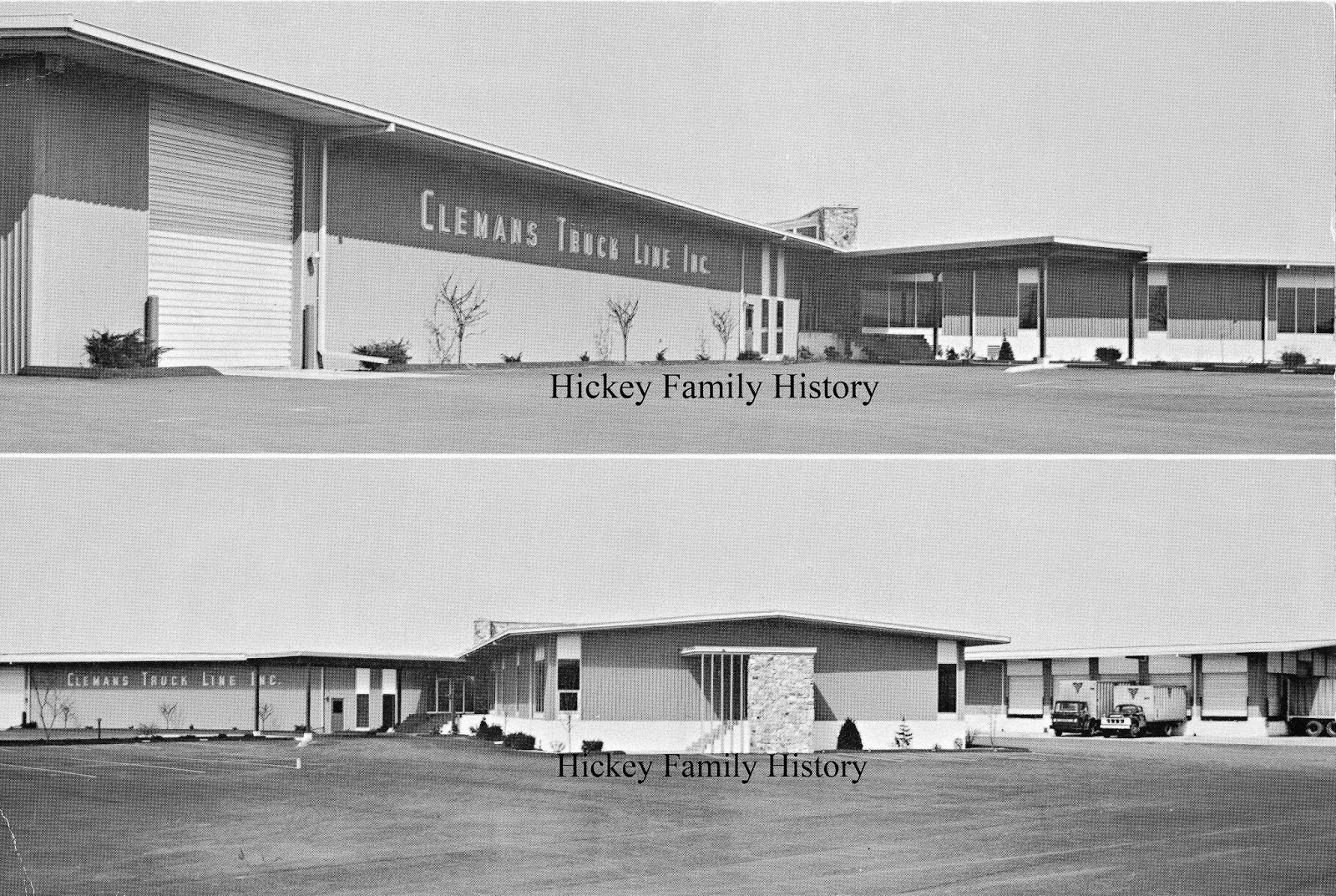 thomas l hickey 1886 1966 designed and built a truck terminal for clemans truck line inc at 815 west sample street in south bend indiana in 1965