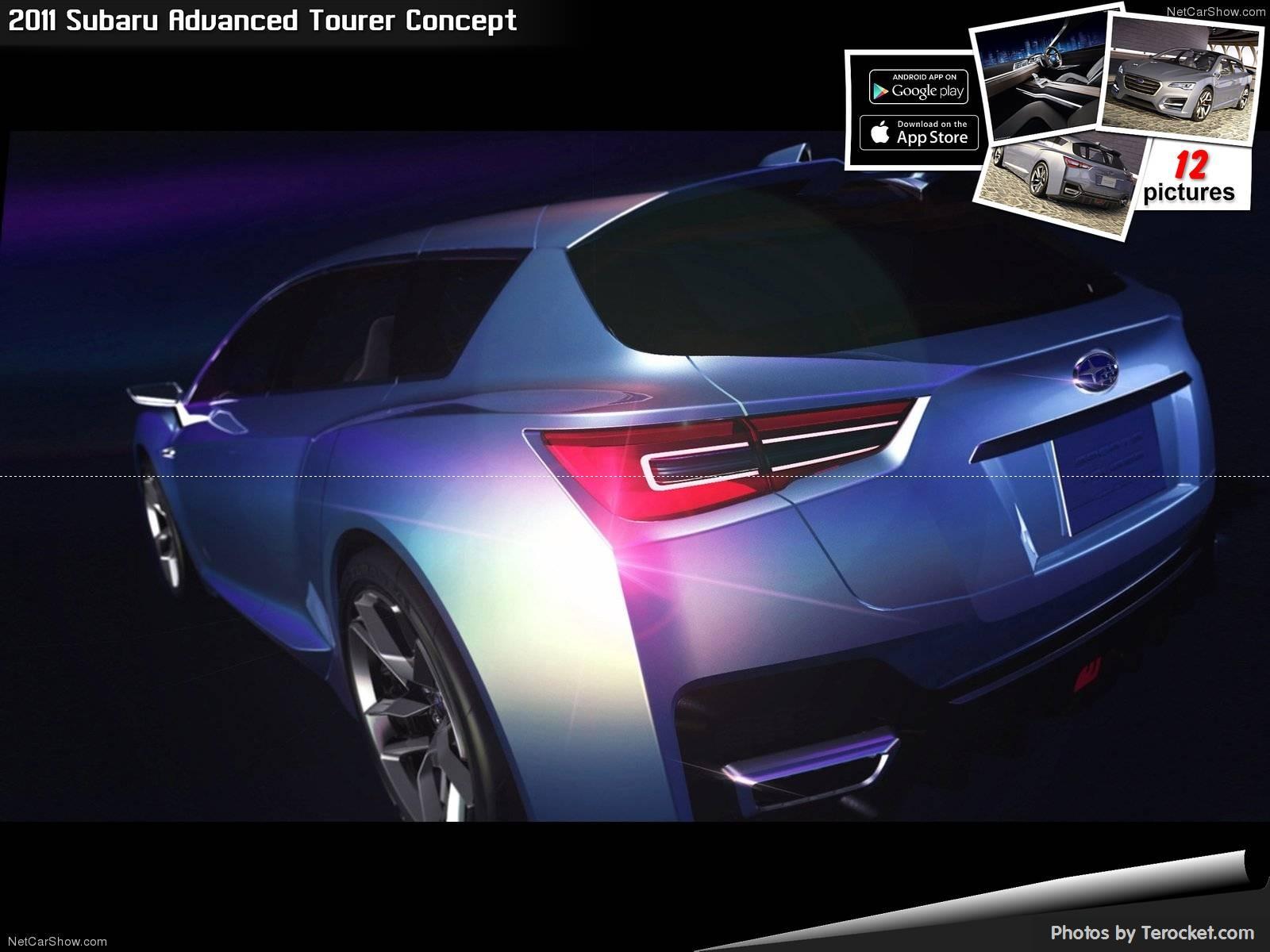 Hình ảnh xe ô tô Subaru Advanced Tourer Concept 2011 & nội ngoại thất